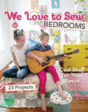 We Love to Sew: Bedrooms 23 Easy Projects Sewing Paperback Book